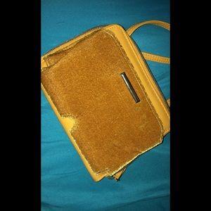 Yellow mini purse